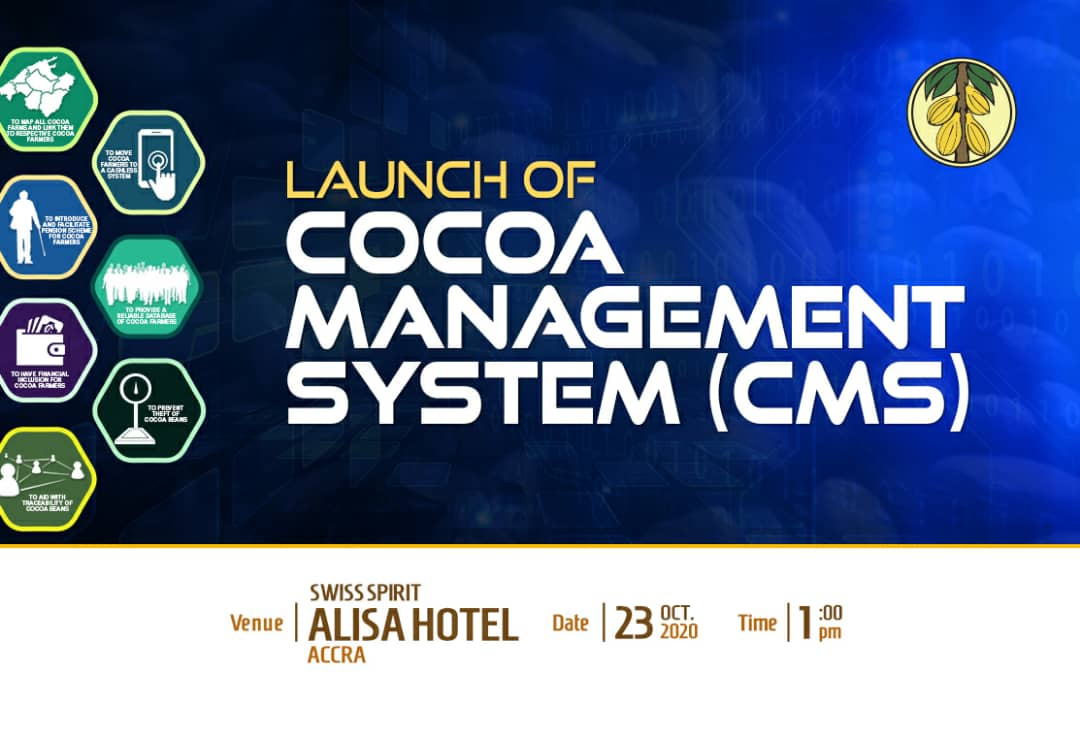 Official Launching of the Cocoa Management System