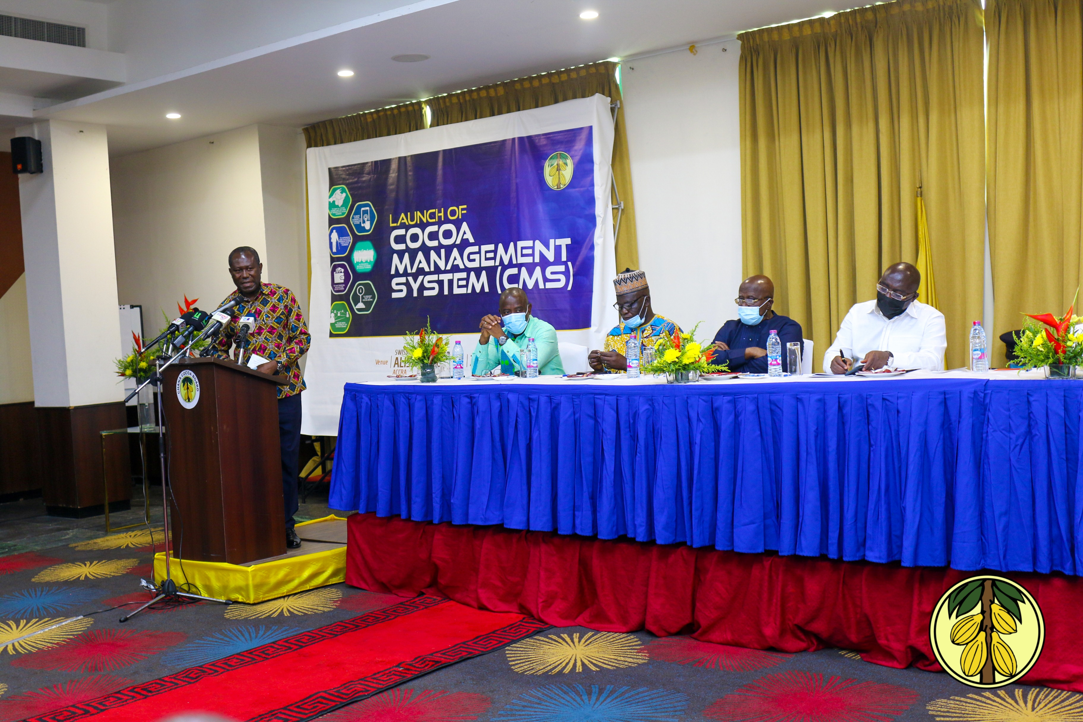 LAUNCHING OF COCOA MANAGEMENT SYSTEM