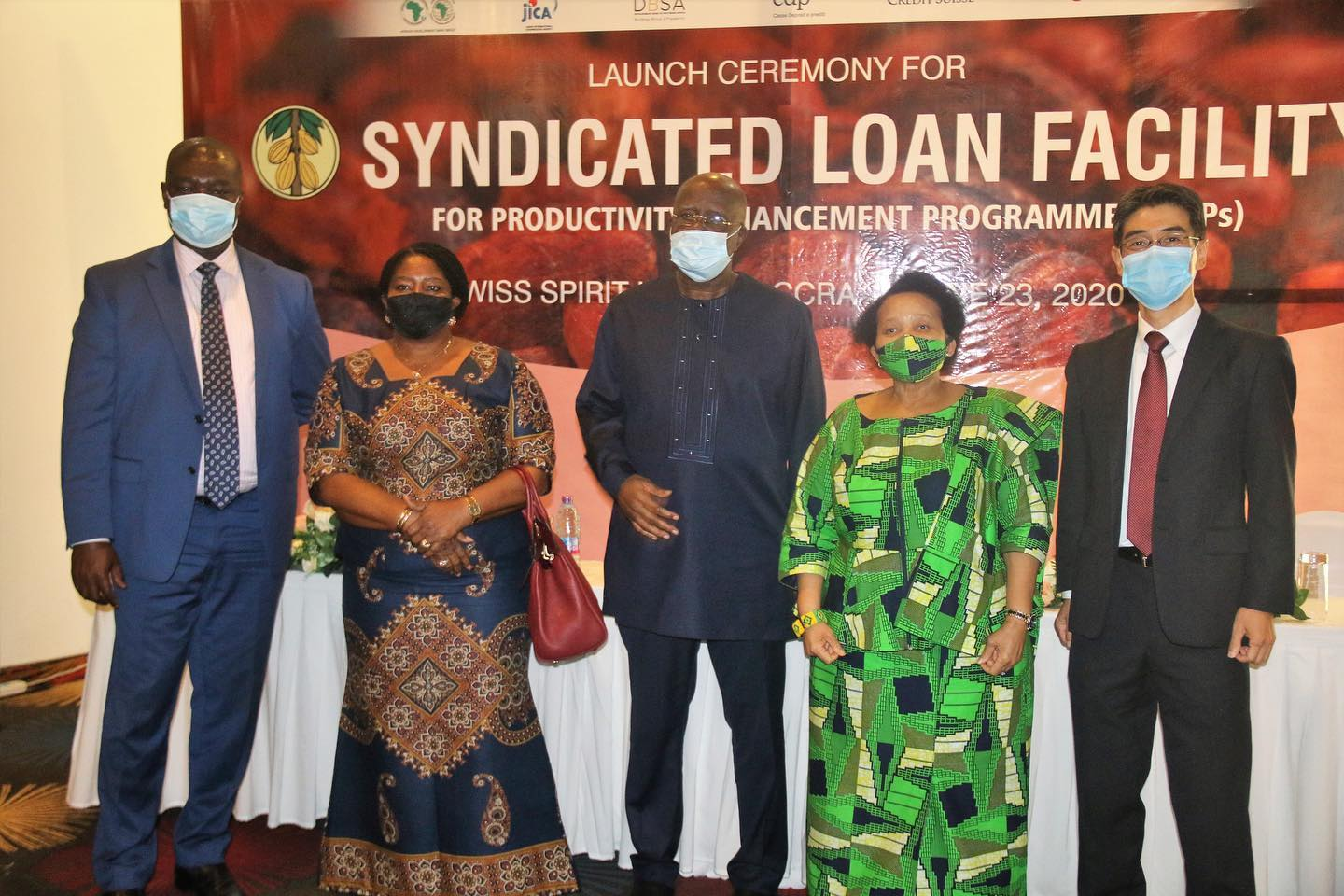 SCENES FROM LAUNCH CEREMONY FOR US$600 MILLION SYNDICATED LOAN FACILITY
